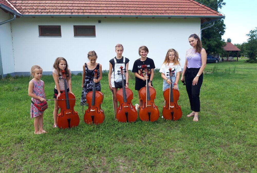 Zeneművészeti tábor, Aba július 26.-31.