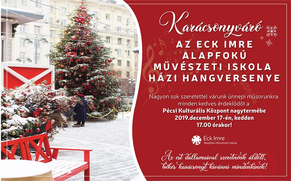 Karácsonyváró házi hangverseny