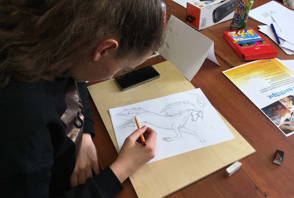 Rajz workshop diákoknak térítés nélkül