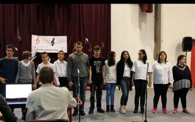 Sikeres diákok a Városi Dalversenyen